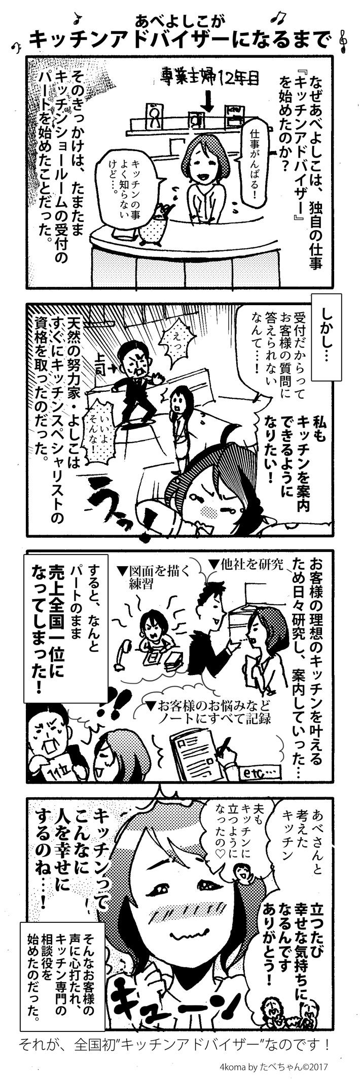 阿部美子(あべよしこ) が幸せキッチンアドバイザーになるまで
